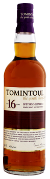 Tomintoul 16 YO whisky The gentle dram 0,7L 40%