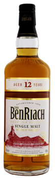 BenRiach 12 YO single malt Scotch whisky 0,7L 43%