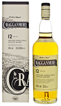 Cragganmore 12YO single malt Scotch whisky 0,2L 40