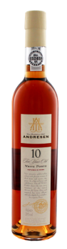 Andresen 10 years old White tawny porto 0,5L 20%