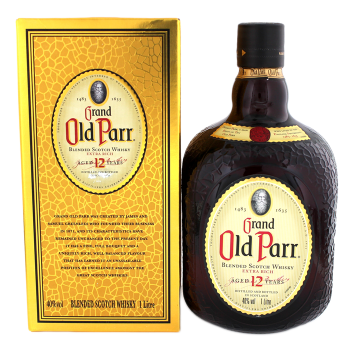 Old Parr 12 years old blended Scotch Whisky 1L 40%