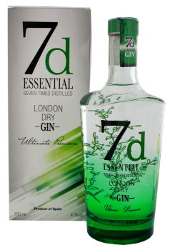 7d Essential London Dry Gin 0,7L 41%