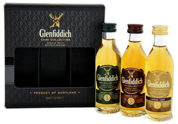 Glenfiddich Cask Collection whisky 0,15L 40%