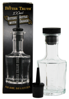 The Bitter Truth Decanter Bottle leeg 0,1L