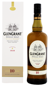 Glen Grant 10YO single Malt Whisky 0,7L 40%