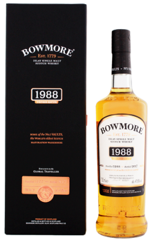 Bowmore 1988 Islay single malt whisky 0,7L 47,8%