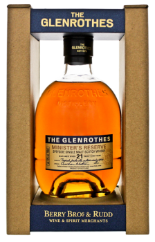 The Glenrothes Ministers Reserve matured 21YO 0,7L