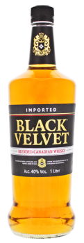 Black Velvet Blended Canadian Whisky 1L 40%