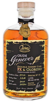 Zuidam Oude Genever Sherry Cask PX Oloroso Nr.15