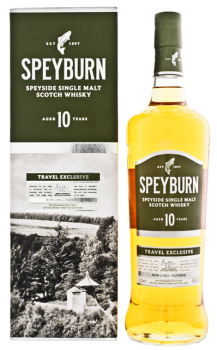 Speyburn 10YO Malt Whisky Non Chill Filtered 1L 46%