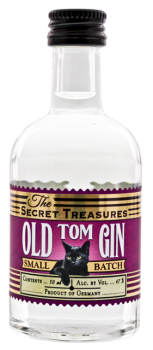 The Secret Treasures Old Tom Gin miniatuur 0,05L