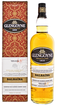 Glengoyne Balbaina Single Malt Whisky 1L 43%