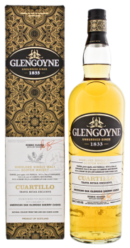 Glengoyne Cuartillo Single Malt Whisky 1L 40%