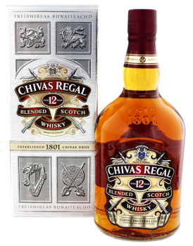 Chivas Regal 12 YO blended Scotch Whisky 1L 40%