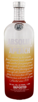 Absolut Vodka Apeach 1L 40%