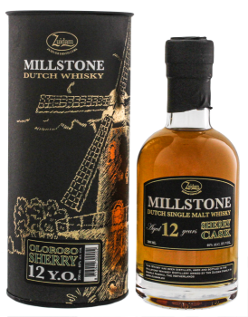 Zuidam Millstone Single Malt 12YO Sherry Cask 0,2L