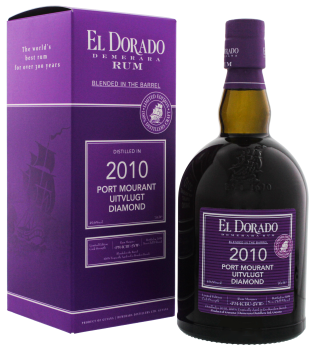 El Dorado Rum Blended in the Barrel 2010 0,7L 49,6%