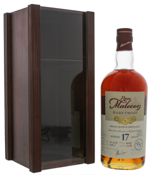 Malecon Rare Proof 17YO Rum 0,7L Wooden Box