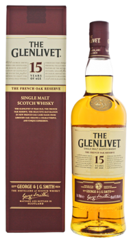 The Glenlivet 15YO French Oak 0,7L 40%