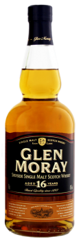 Glen Moray 16 YO single malt Scotch whisky 0,7L 40%