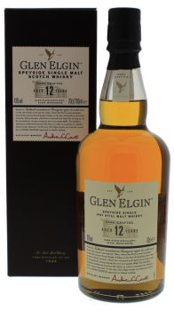 Glen Elgin 12YO pot still Speyside whisky 0,7L 43%