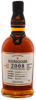 Foursquare 2008 Cask Strength 12YO Rum 0,7L 60%