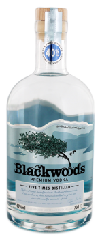 Blackwoods Nordic premium wodka 0,7L 40%
