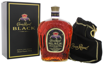 Crown Royal Black Canadian Whisky 1L 45%