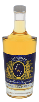 Lebensstern Elderflower Likeur 0,7L 22%
