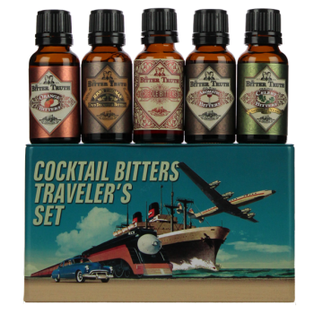 The Bitter Truth Cocktail Bitters Traveler Set 0,1L