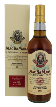 Macnamara Rum Finish Blended Whisky 0,7L 40%