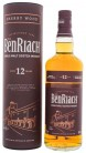 BenRiach 12YO Sherry wood single malt whisky 0,7L