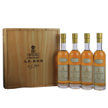 A.E. Dor Cognac Coffret Cru Collection 4x0,2L 40%