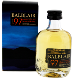 Balblair Vintage 1997 single malt whisky 0,05L 46%