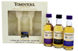 Tomintoul Triple Pack whisky 0,15L 40%