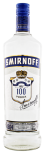 Smirnoff Blue Label triple distilled 100 proof 1L 50%