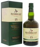 Redbreast 15YO single pot still Irish whiskey 0,7L 46%
