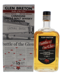 Glen Breton Battle of Glen 15YO Whisky 0,7L 40%