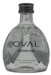 Oval Vodka 56 Structured wodka 0,05L 56%