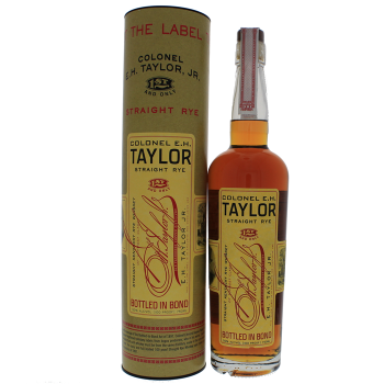 EH Taylor Straight Kentucky Rye whiskey