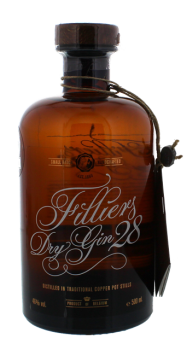 Filliers Dry Gin 28 copper pot stills