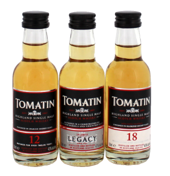 Tomatin Coopers Choice Pack whisky
