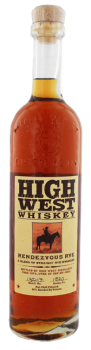 High West Distillery Rendezvous straight Rye 0,7L 46%