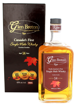 Glen Breton 14YO Single Malt Whisky 0,7L 43%