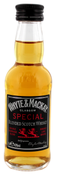 Whyte & Mackay Special blended whisky 0,05L 40%