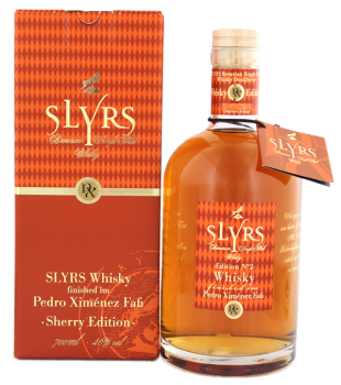 Slyrs Pedro Ximenez Edition No. 2 whisky 0,7L 46%