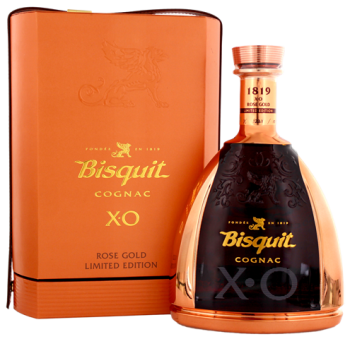 Bisquit XO Gold Rose cognac limited edition 1L 40%