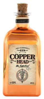 Copper Head the alchemist Gin 0,5L 40%