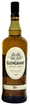 Glen Grant 10YO single Malt Whisky 1L 40%
