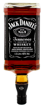 Jack Daniels Black  no7 Tennessee whiskey 1,5L 40%